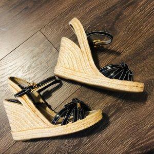 Prada wedge heels